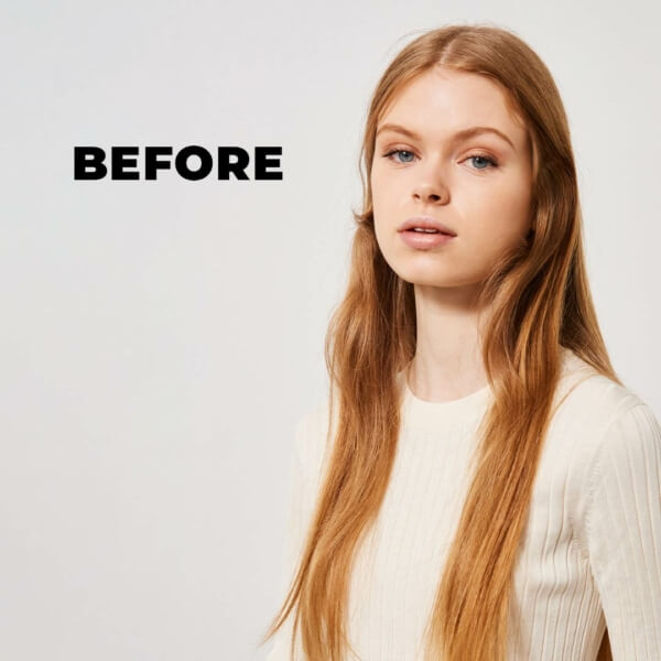 Mm 5 Oils Complex Before And After Blonde Before