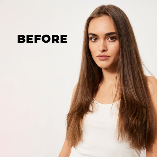 Mm 5 Oils Complex Before And After Brunette Before
